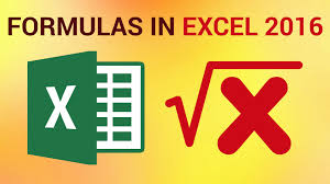 creating formulas in excel how to create basic formulas in excel 2016 youtube