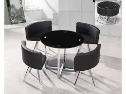 nice black table and chairs set kitchen outstanding dining room round table set intended for and