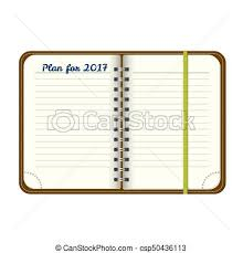 Notepad Template Top View Notepad Template Vector Realistic Blank Magazine Or Book
