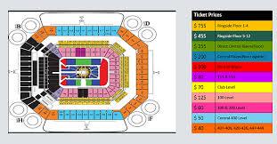 Wrestlemania 28 Seating Chart Travel2mania
