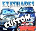 Windshield shade custom