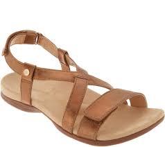 Spenco Sandal Size Chart Spenco Orthotic Cross Strap Sandals Grace My Style