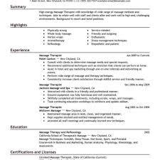 Massage Therapist Resume Sample New Massage Therapist Resume Examples Registered Massage therapist 42
