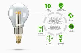 gama sonic is proud to introduce our brand new marvel of modern solar lighting technology the gs solar led light bulb a u s utility patent no 9458970