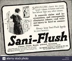 1920s advertisement advert dated 1923 advertising sani flush 1920s advertisement advert dated 1923 advertising sani flush toilet cleaning powder