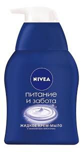 Купить <b>жидкое</b> крем-<b>мыло питание</b> и забота 250мл <b>NIVEA</b>, цена ...
