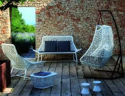 unique garden furniture. Unique Hanging Swing Outdoor Garden Furniture Decor White Frame With Chairs 2017 I