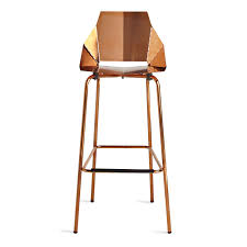 Modern Style Bar Stools Kitchen Copper Bar Stools Contemporary Counter Stools