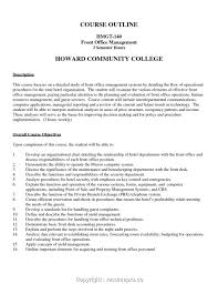 Resume For Hotel Front Desk Resume Work Template