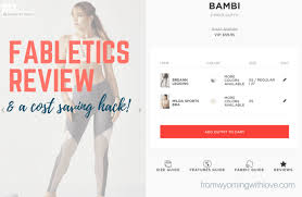 Fabletics Size Chart Fabletics Review A Cost Saving Hack From Wyoming