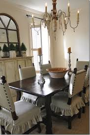 dining room chairs slipcovers on seats with upholstered top using large nail head tacks