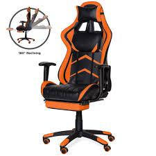 Best Choice Products Ergonomic Swivel <b>Reclining Office Racing</b> ...