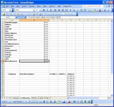 How To Use Excel For A Budget Using Excel Part 2 Creating A Budget Paranoid Asteroid