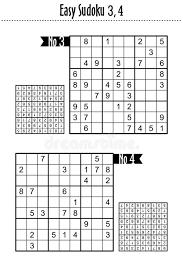 Sudoku Number Combinations Chart Sudoku Puzzles Stock Illustrations 86 Sudoku Puzzles Stock
