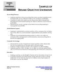 Good Objective Statement For Resume Amazing 309 Objective Statement In Resumes Hospinoiseworksco Good Objective