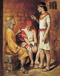 Joseph and the Butler and Baker (Joseph Interprets the Pharaoh's Servants'  Dreams)