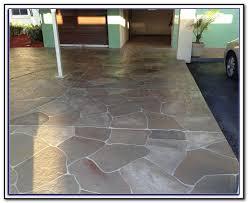 painting concrete patio slab