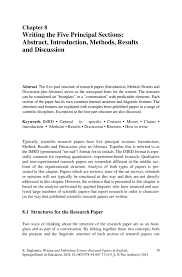 introduction section for research paper  dom writers analysis essay scientific papers learn science at scitable nature