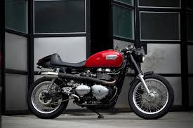 benjies cafe racer triumph thruxton return of the cafe racers