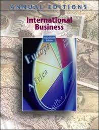 Annual Editions: International Business, 14/e : Frederick Maidment :  9780073528427