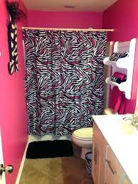black and pink bathroom accessories. Animal Print Bathroom Set Zebra Sets Precious Black And Pink Accessories