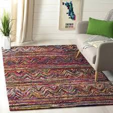 safavieh nantucket rugs traditional geometric hand tufted cotton multi area rug safavieh nantucket rugs