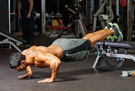 push ups between chairs. decline push-ups. elevate your feet by using a chair, box, or bench. at this angle, body will want to dip and dive so be sure reinforce core push ups between chairs
