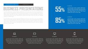 microsoft office presentations how to design flat simple slide for business presentation in