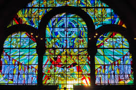 material stained glass pray farbenspiel catholic art arches symmetry mosaic prayer ity image mood silent historically