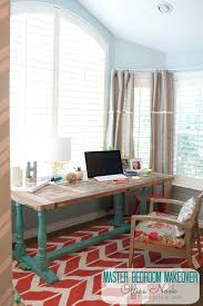 office in master bedroom. Master Bedroom Details: Make A Cozy Office Nook! In B