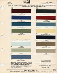 66 Mustang Color Chart Danbury Mint 1966 Ford Mustang Convertible 1 1966 Mustang