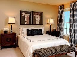 Master Bedroom Drapery Bay Window Curtain Ideas Bedroom