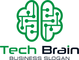 Technology Brain Logo Vector (.AI) Free Download