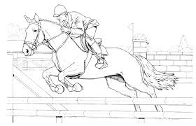 We've put together a nice selection of horse coloring pages for your kid to download, print and color. Horse To Color For Kids Horse Jumping Horses Kids Coloring Pages