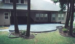 concrete patio designs with fire pit. Concrete Patio Designs Fire Pit With
