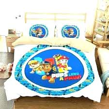 paw patrol bedding twin paw patrol twin bed set sheets customize bedding duvet cover