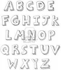 Coloriage Lettre Alphabet Sympa