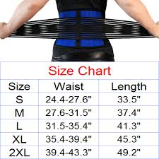 Us 4 99 Top Quality Fitness Waist Support Back Protector Belt Care Back Pain For Weightlifting Gym Sports For Women Men Size S 2xl In Waist
