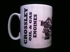 crossley engine crossley gas and oil engine themed gift mug