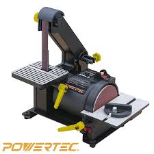 craftsman belt and disc sander. powertec bd1500 wood working belt disc sander, 1-inch x 5-inch craftsman and sander