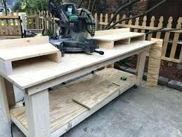 diy miter saw table pleasing miter saw bench shanty 2 chic for of table saw