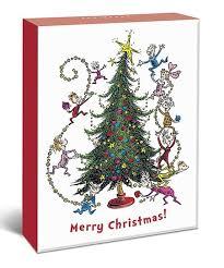 Christmas Notecard Graphique De France Dr Seuss Merry Christmas Notecard Set Of 20