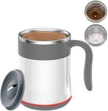 Huge selection & great prices. Amazon Com Toktekk Coffee Self Stirring Cup Automatic Temperature Control Waterproof Stainless Steel Mixing Cup Stir Your Coffee Tea Ideal For Office Kitchen Travel Home 14 Oz Kitchen Dining