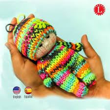 Loom Knit Patterns Awesome Loom Knitting PATTERNS Toys Doll Amigurumi Tiny Dolls Pattern Etsy