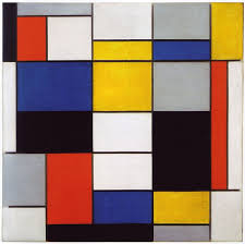 around 1920 when mondrian was 48 he began painting in the primary colored