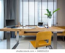 Office curtains Designer Modern Creative Workplace With Laptop Tablet Equipment Architect Office Design Concept Shutterstock Office Curtains Images Stock Photos Vectors Shutterstock