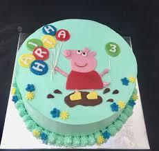 Peppa Pig 1st Birthday Cake Ideas Birthdaycakeformomcf