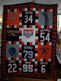 good friends! & ....his mom finished his t-shirt quilt just in time for the big Bears win  at Wembley Stadium! Adamdwight.com