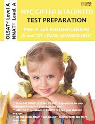 nyc gifted and talented test preparation pre k and kindergarten olsat workbook and olsat level a practice test plus nnat workbook and nnat level a practice