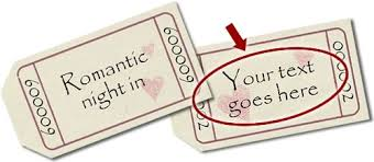 Romantic Coupons To Download Personalize And Print